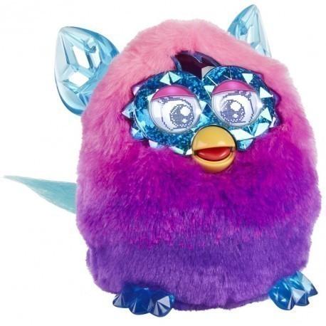 Hasbro interactive toy Furby Boom Crystal, pink/purple