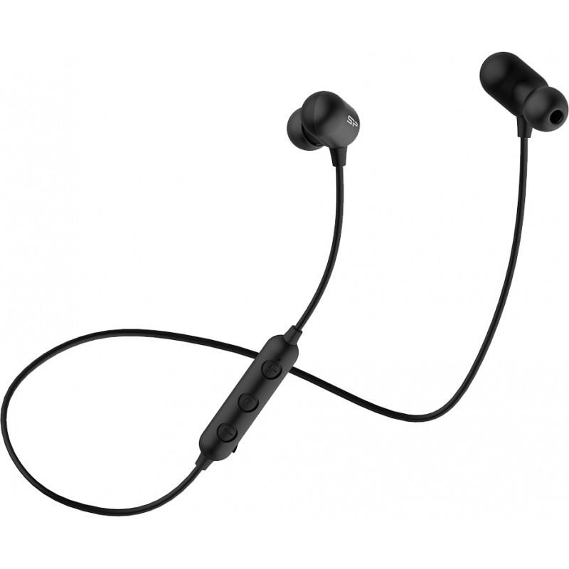 Silicon Power kõrvaklapid + mikrofon BP61 BT, must