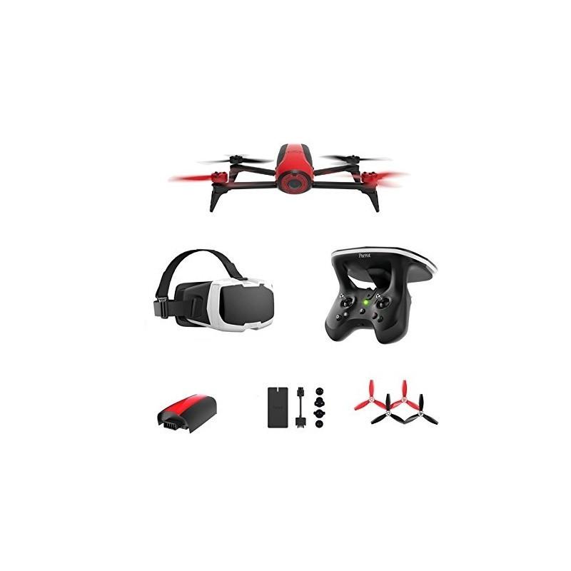 Parrot Bebop 2 + Skycontroller 2 + FPV - red/black