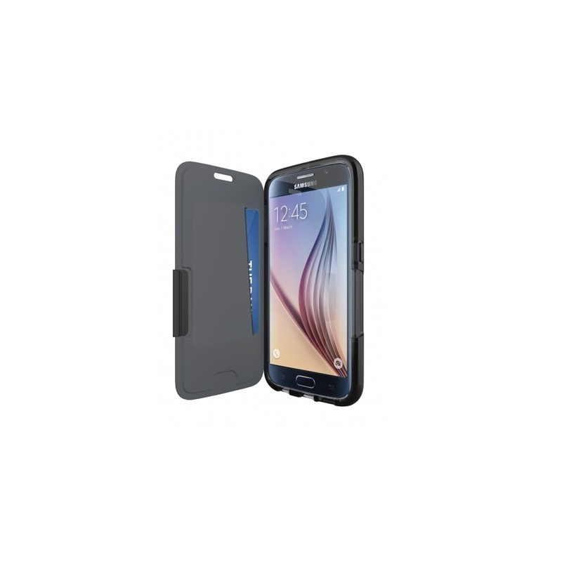 new product db7fe 8c7f1 Tech21 case Evo Samsung Galaxy S6 Edge, black
