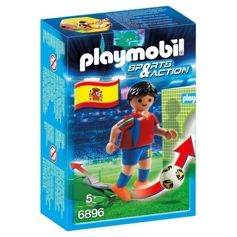 510be8a0dc5 Playmobil SPORTS AND ACTION Jalgpallur (Hispaania) - Mänguklotsid ...