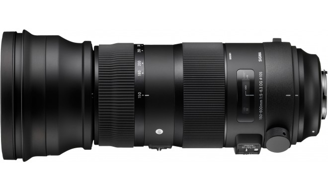 Sigma 150-600mm f/5-6.3 DG OS HSM Sports objektiiv Canonile