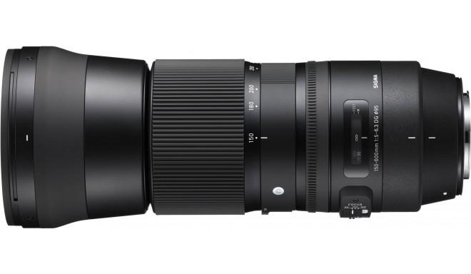 Sigma 150-600mm f/5-6.3 DG OS HSM Contemporary objektiiv Canonile