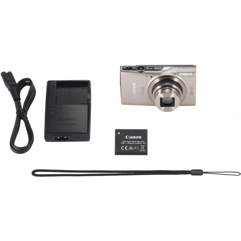 Canon Digital Ixus 285 HS, hõbedane