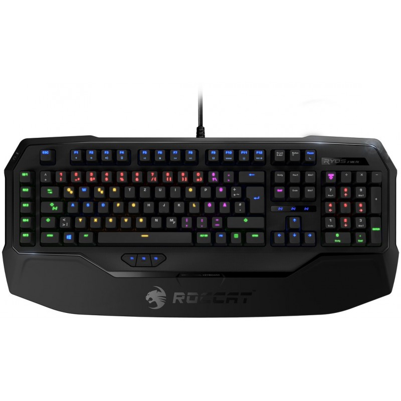 Roccat клавиатура Ryos MK FX, Cherry MX Brown, US (ROC-12-871-BN)