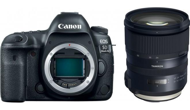 Canon EOS 5D IV + Tamron 24-70 мм G2