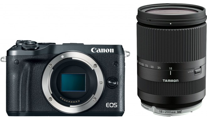 Canon EOS M6 + Tamron 18-200mm VC, must