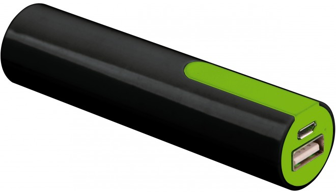 Platinet power bank 2000mAh + kabelis, zaļš (PMPB20GR)