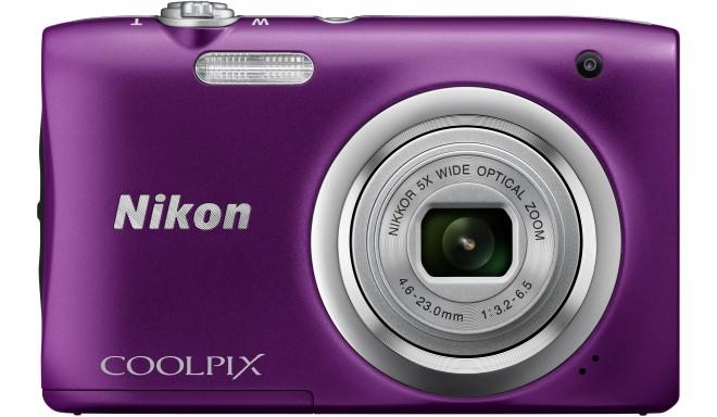 Nikon Coolpix A100, фиолетовый