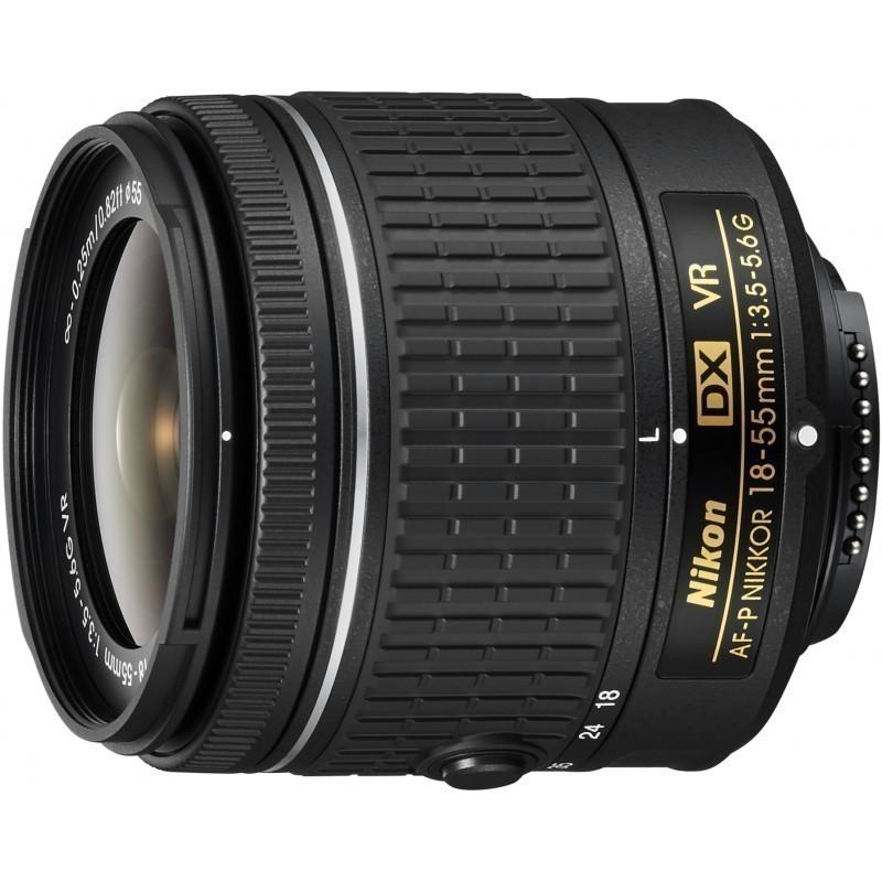 Nikon AF-P DX Nikkor 18-55mm f/3.5-5.6G VR objektiiv