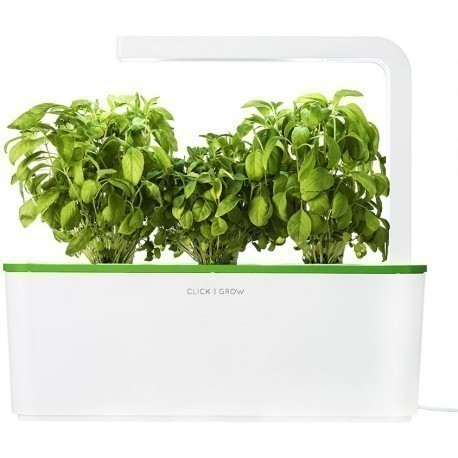 Click & Grow Smart Herb Garden, rohelise kaanega