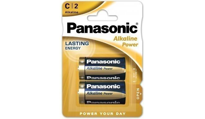 Panasonic Alkaline Power baterijas LR14APB/2BP