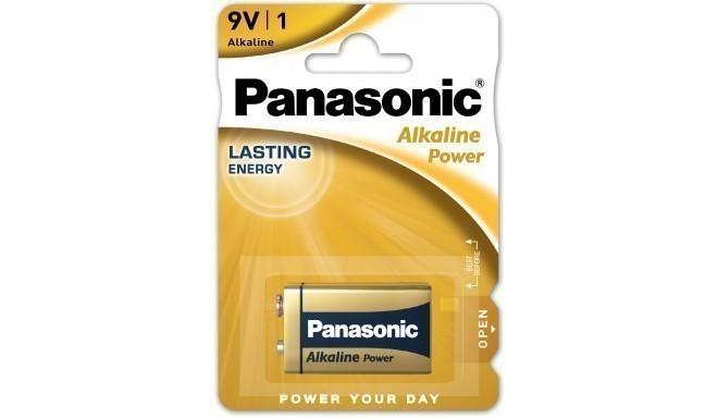 Panasonic Alkaline Power baterija 6LR61APB/1B 9V
