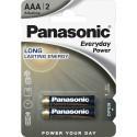 Panasonic baterija LR03EPS/2B