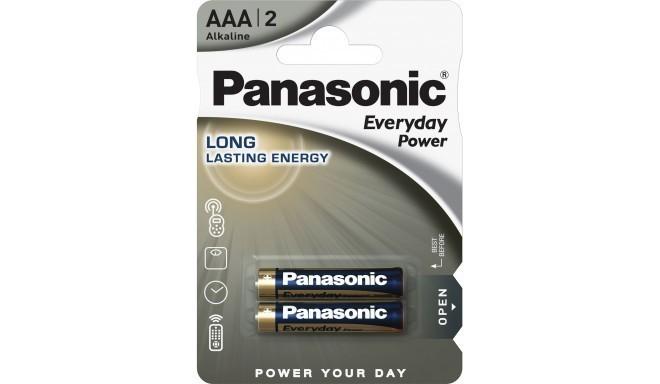 Panasonic Everyday Power baterija LR03EPS/2B