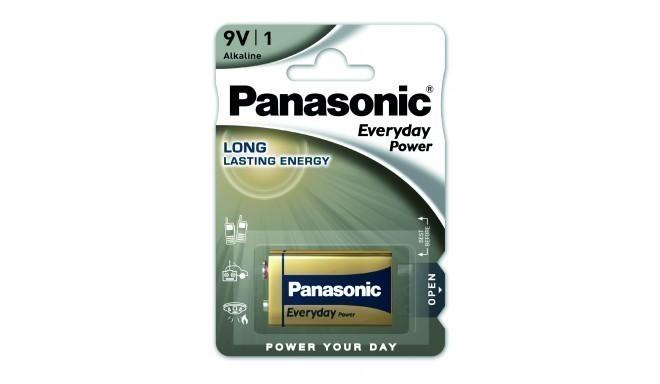 Panasonic Everyday Power patarei 6LR61EPS/1B 9V