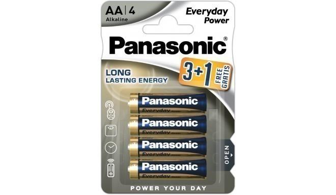 Panasonic Everyday Power baterija LR6EPS/4B (3+1)