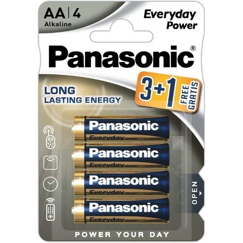 Panasonic baterija LR6EPS/4B (3+1)
