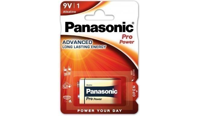 Panasonic Pro Power baterija 6LR61PPG/1B 9V