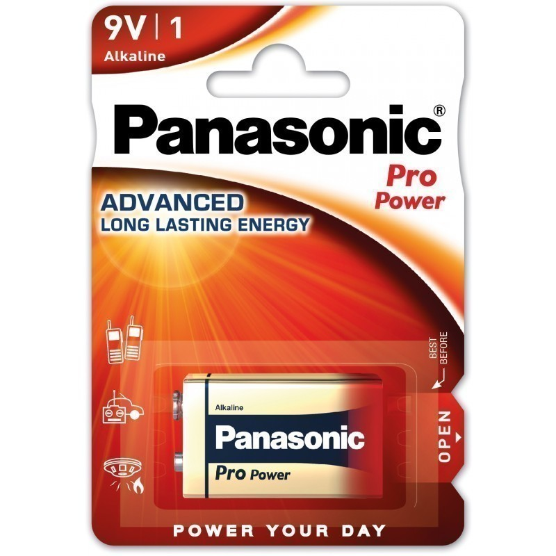 Panasonic battery 6LR61PPG/1B 9V
