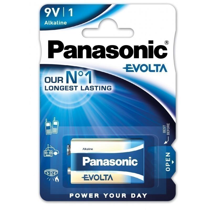 Panasonic Evolta батарейка 6LR61EGE/1B 9V