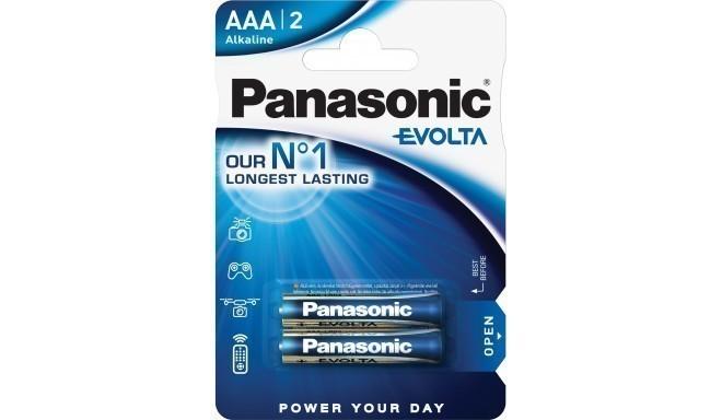 Panasonic Evolta baterija LR03EGE/2B