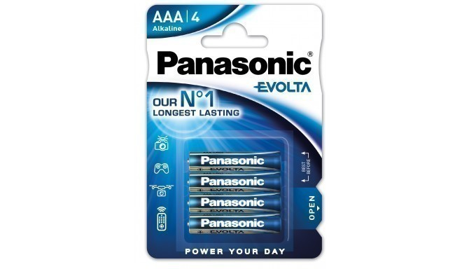 Panasonic Evolta baterija LR03EGE/4B