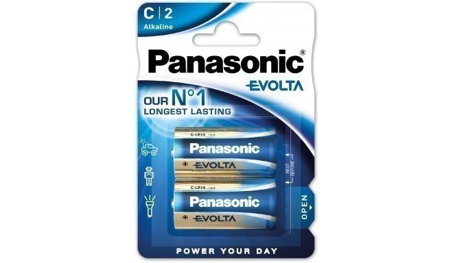 Panasonic Evolta patarei LR14EGE/2B