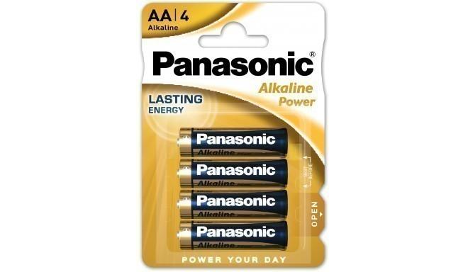 Panasonic Alkaline Power battery LR6APB/4B