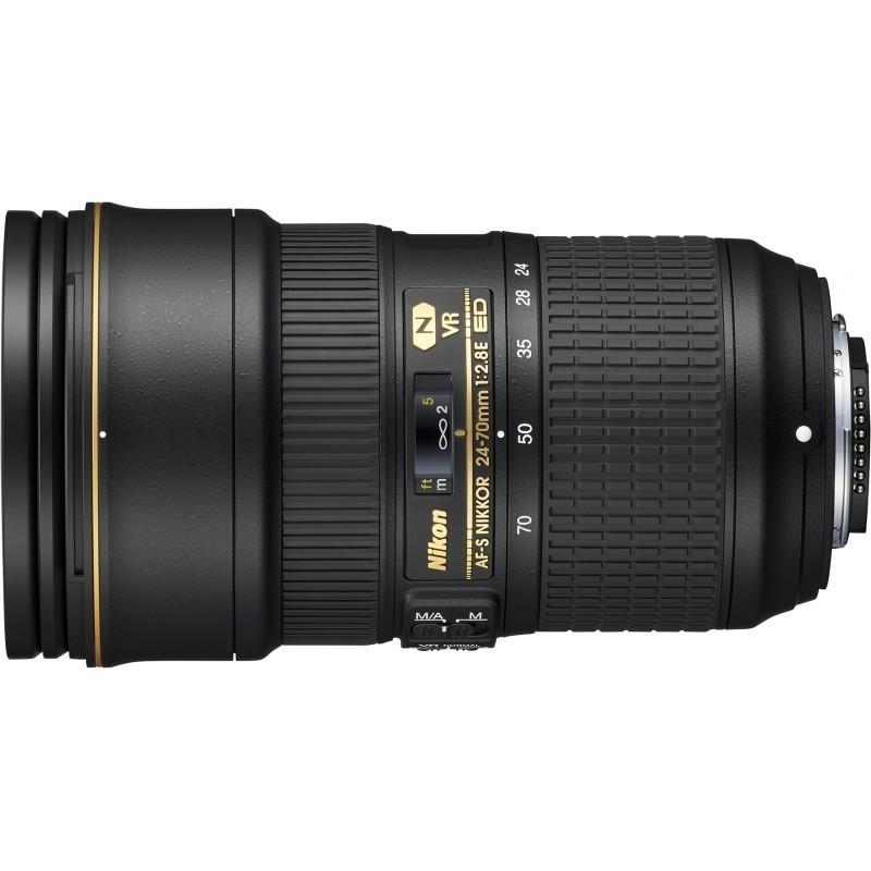 Nikkor AF-S 24-70mm f/2.8E ED VR lens