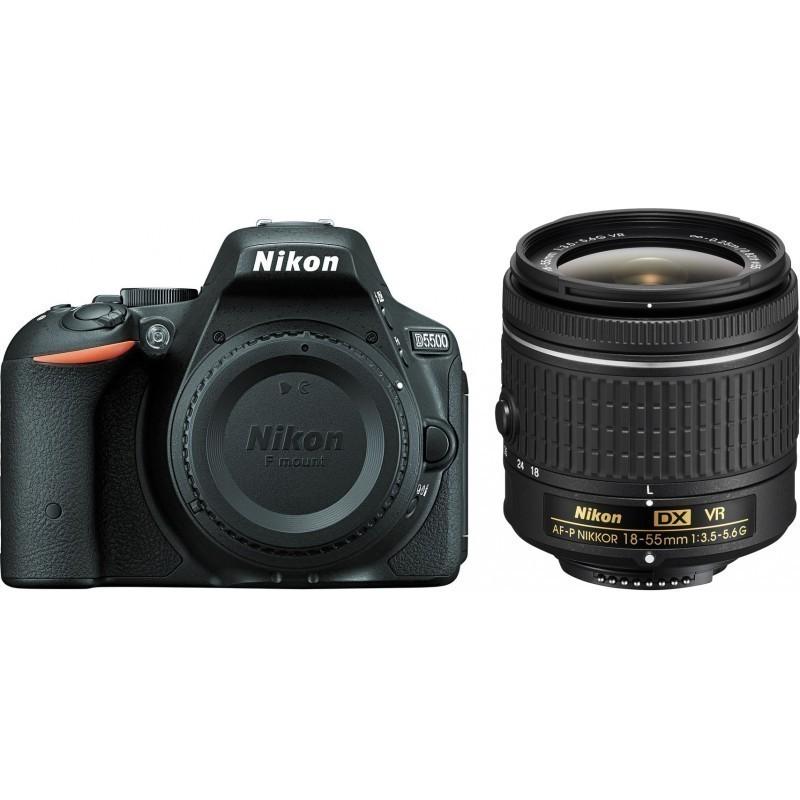 Nikon D5500 + 18-55mm AF-P VR Kit, must