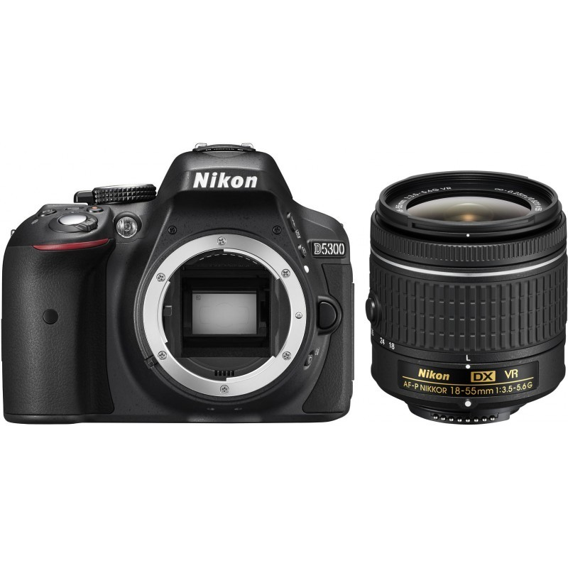 Nikon D5300 + 18-55mm AF-P VR Kit, must