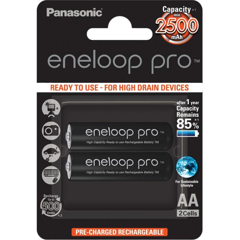 Panasonic eneloop aku pro AA 2500 2BP