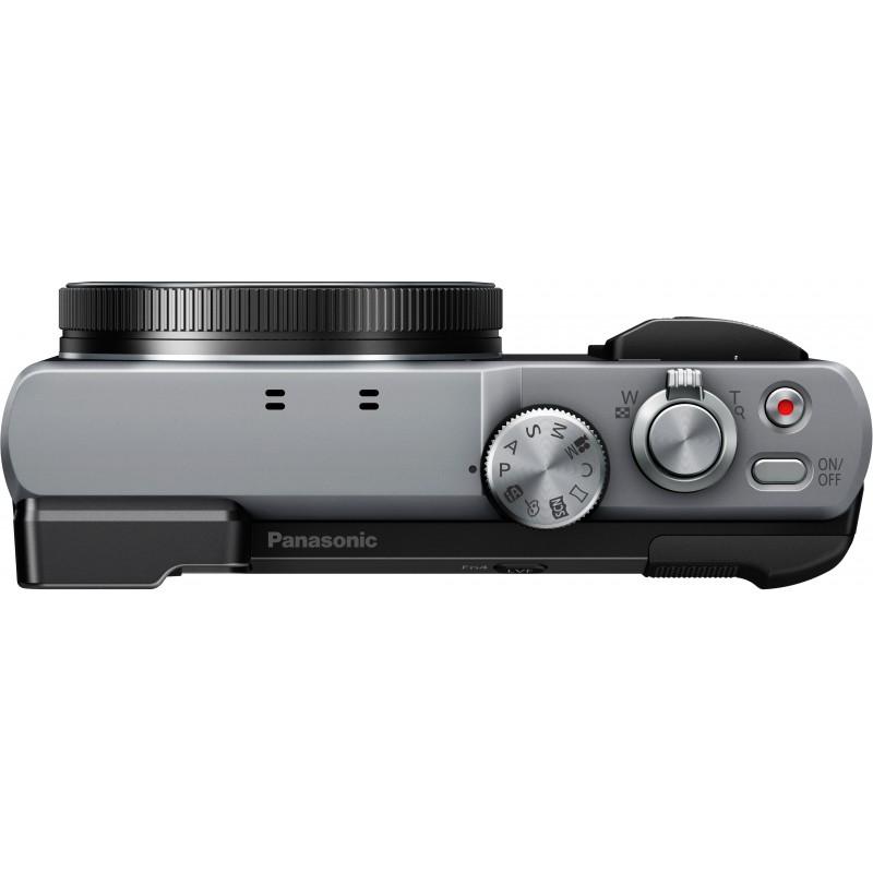 Panasonic Lumix DMC-TZ80, hõbedane