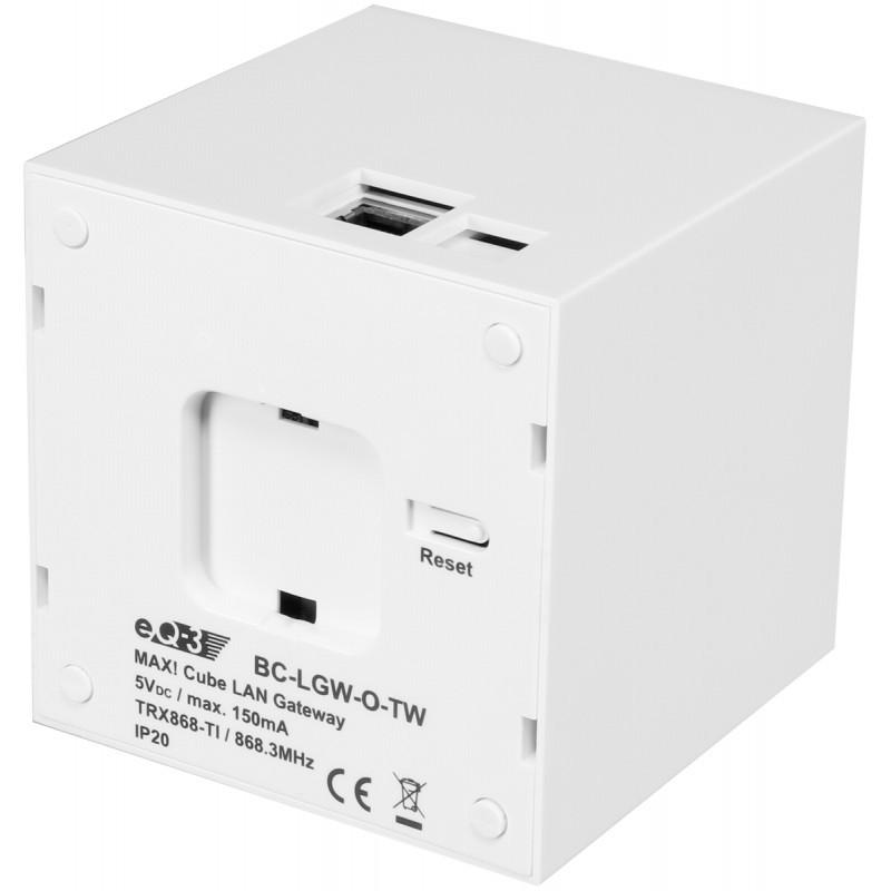 eq 3 max cube lan gateway nutikodu juhtseadmed photopoint. Black Bedroom Furniture Sets. Home Design Ideas