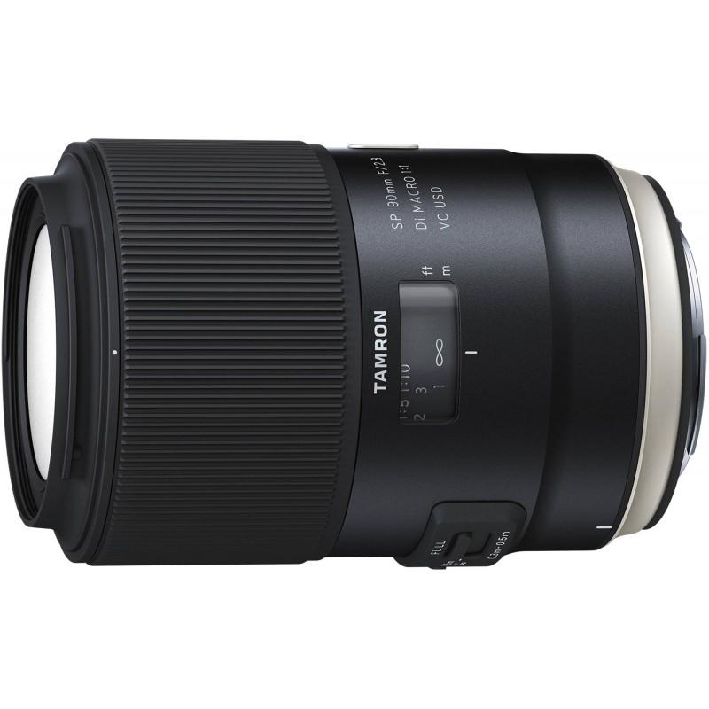 Tamron SP 90mm f/2.8 Di VC USD lens for Canon