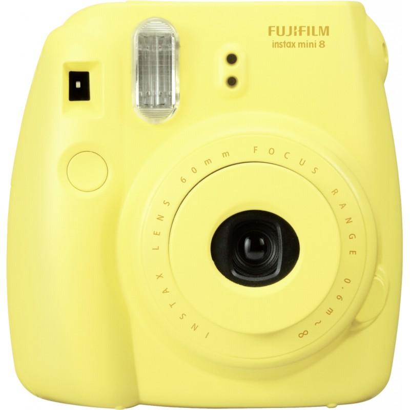 Fujifilm Instax Mini 8 kit, kollane