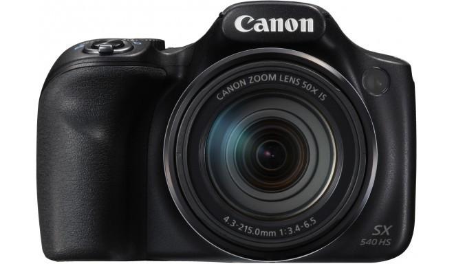 Canon PowerShot SX540 HS, черный