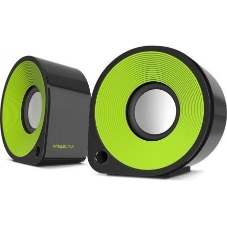 Speedlink kõlarid Ellipz (SL-81000-BKGN), roheline