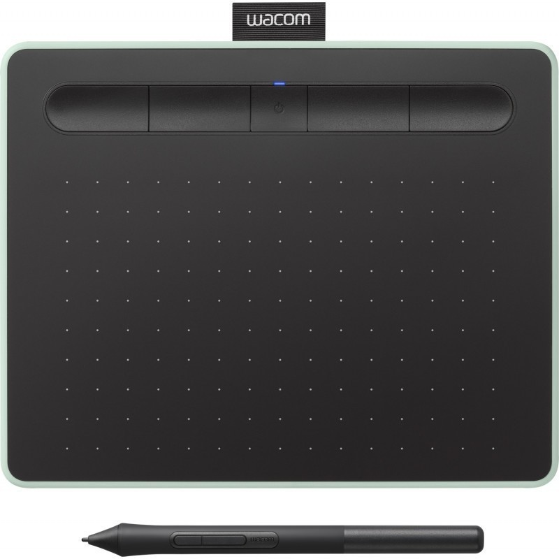 Wacom графический планшет Intuos S Bluetooth, зеленый