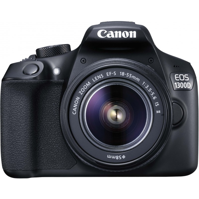Canon EOS 1300D + 18-55mm IS II Kit