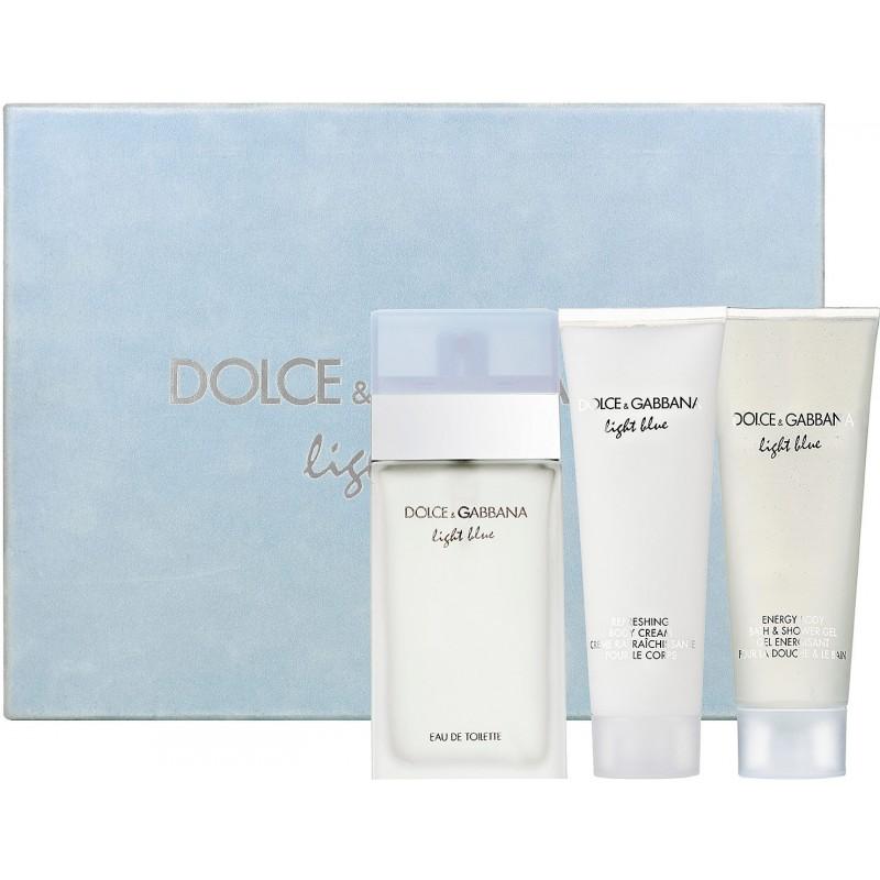 Dolce&Gabbana Light Blue Pour Femme Eau de Toilette 100ml komplekt