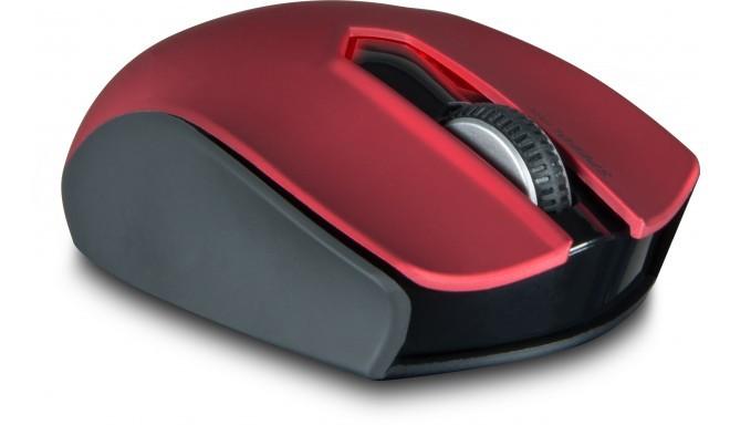 Speedlink pele Exati Wireless, melna/sarkana (SL-630008-BKRD)