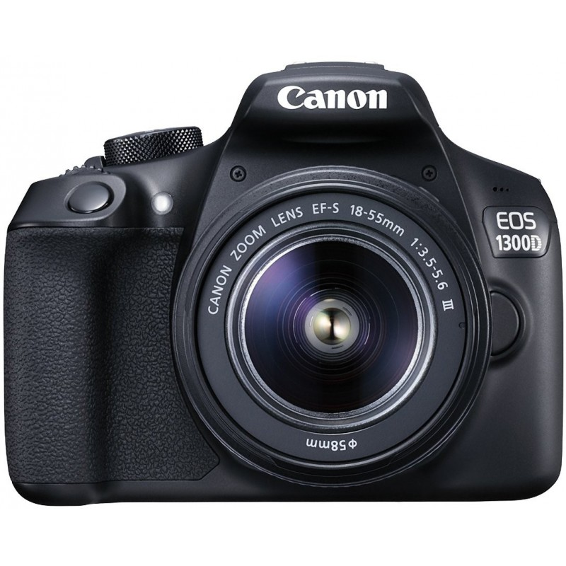 Canon EOS 1300D + 18-55mm DC III + 50mm STM Kit