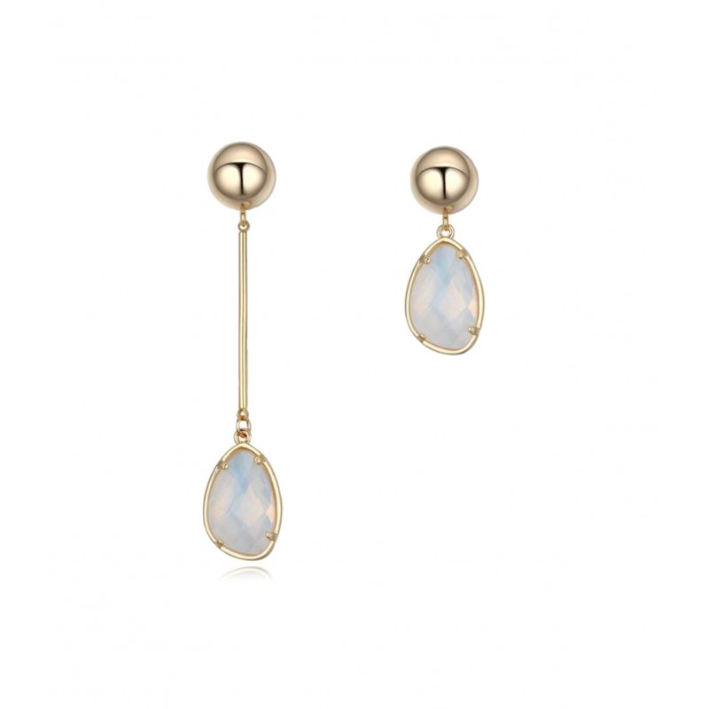 4d6f62dbbf1 OiOi Kumava opaali ja palliga pikad kõrvarõngad - Kõrvarõngad ...