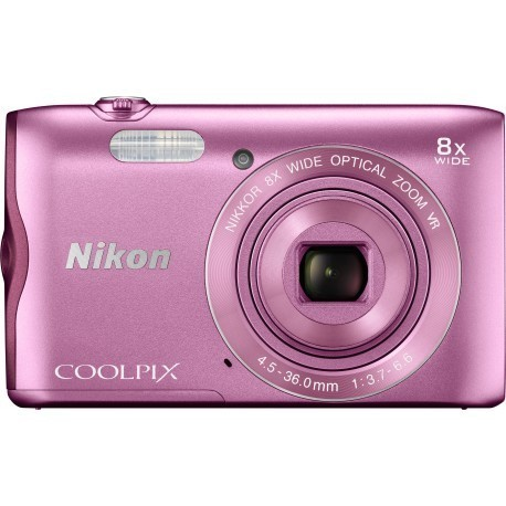 Nikon Coolpix A300, rozā