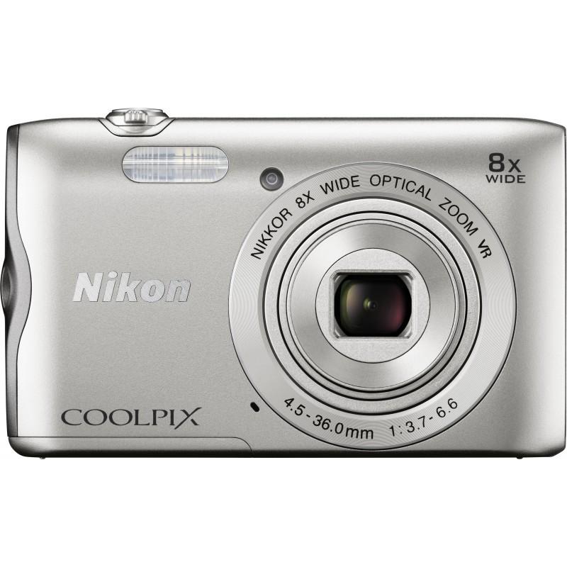 Nikon Coolpix A300, серебристый