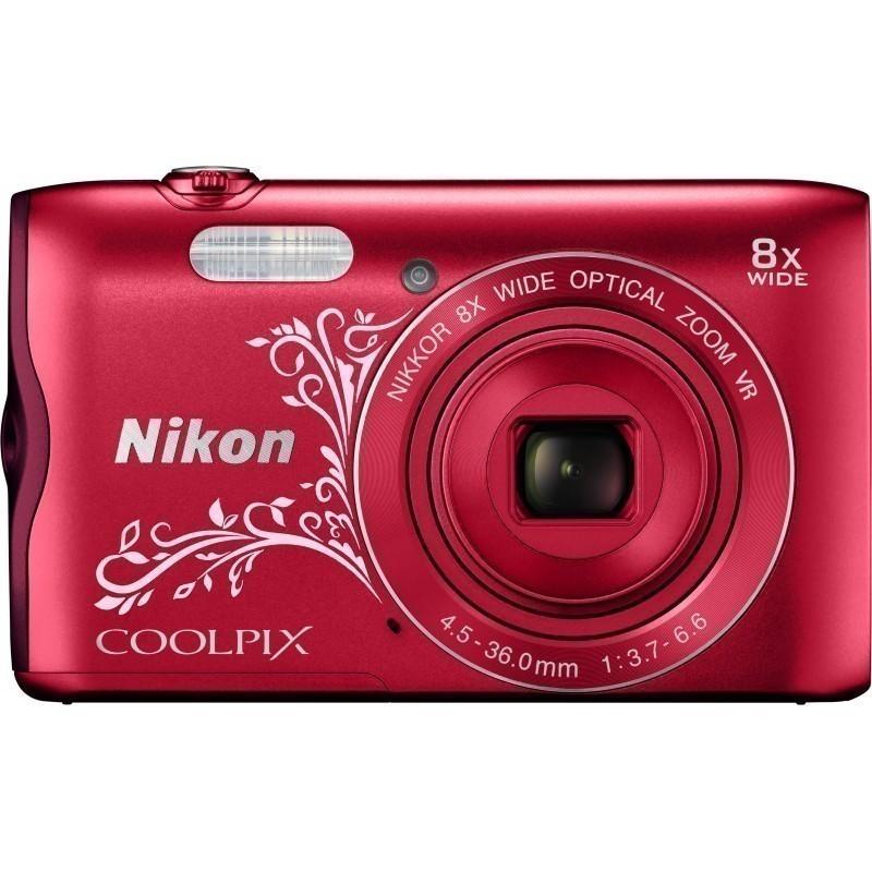 Nikon Coolpix A300, Lineart красный