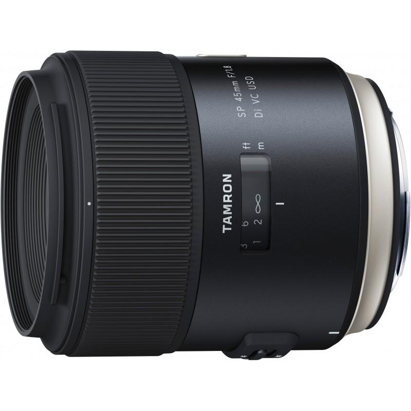 Tamron SP 45mm f/1.8 Di USD objektiiv Sonyle