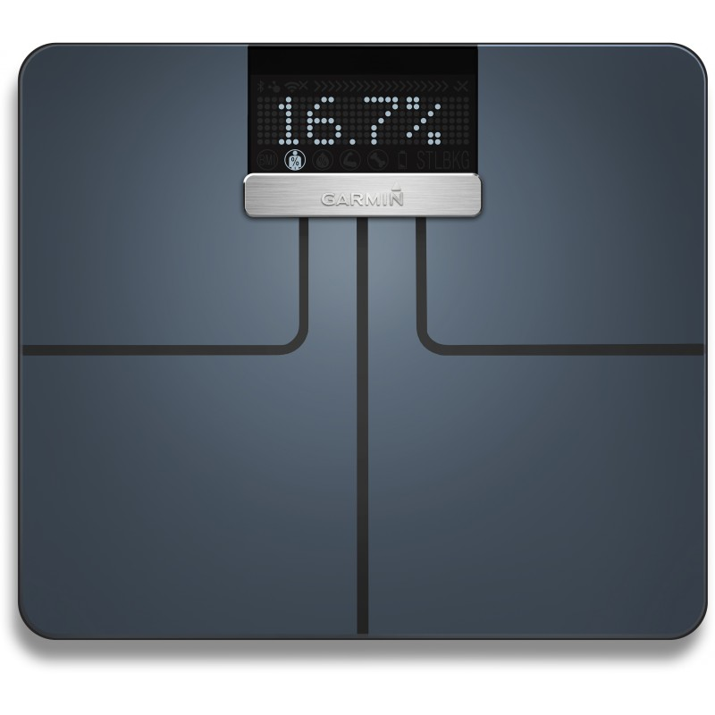Garmin kaal Index Smart Scale, must